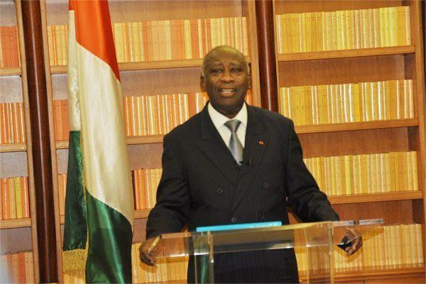 MESSAGE DU PRESIDENT LAURENT GBAGBO A LA COTE D'IVOIRE.